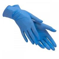 Перчатки нитриловые голубые/розовые  н..