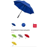 Зонт-трость большой